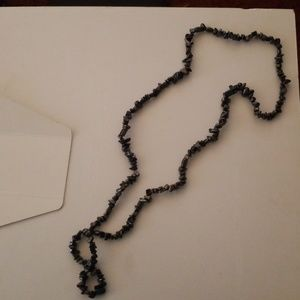 Jewelry - Hematite bead necklace